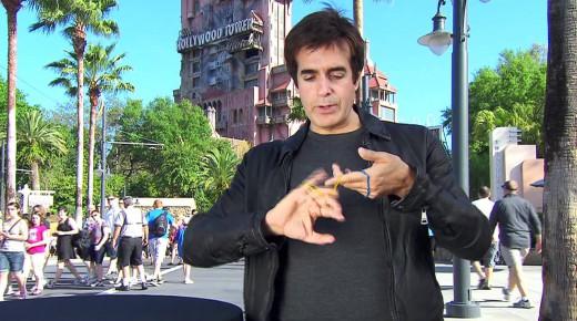 世界一稼ぐマジシャンによる珍しい種明かし映像inディズニーランド!